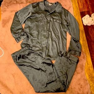 Victoria's Secret silky satin pajama set